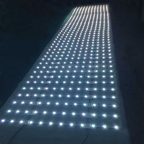 xinelam flexible led light sheet lattice backlight