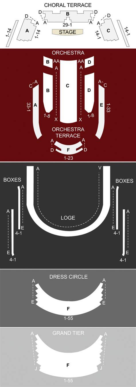 Morton Meyerson Seating Chart