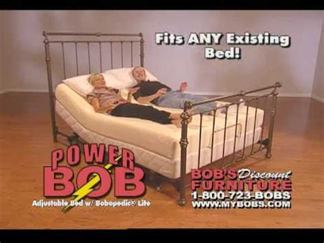 Bobs Adjustable Bed by Bob S Discount Furniture Commercial Bobopedic