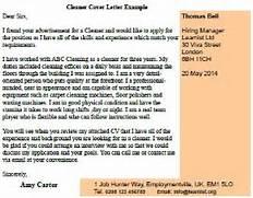 Cleaner Cover Letter Example Cleaner Cover Letter Sample LiveCareer Housekeeper Cover Letter Sample Cleaner Cover Letter Example