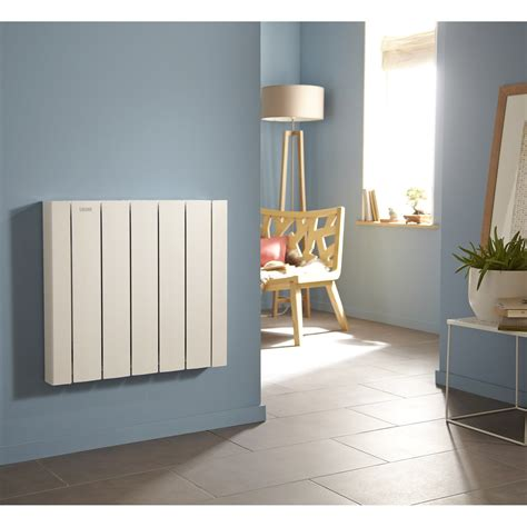 radiateur electrique cuisine radiateur électrique à inertie fluide acova mohair lcd