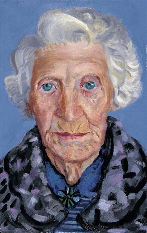 "David Hockney's Painting Of His Mom From ""paintings Of Mom"