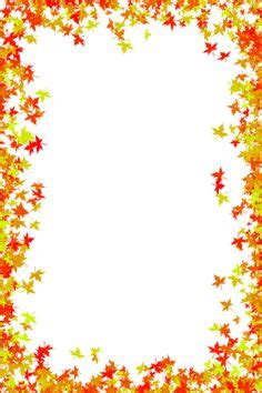 fall  printable paper borders bing images autumn