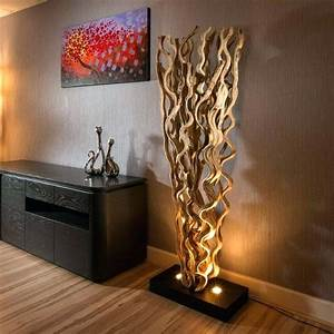 Lampe Bois Design : lampe bois flotte lampe de chevet bois flotte maison du monde ~ Teatrodelosmanantiales.com Idées de Décoration