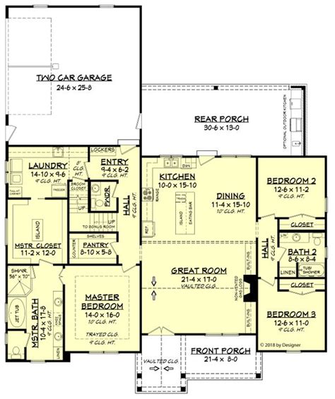 farmhouse style house plan beds baths sqft plan eplanscom