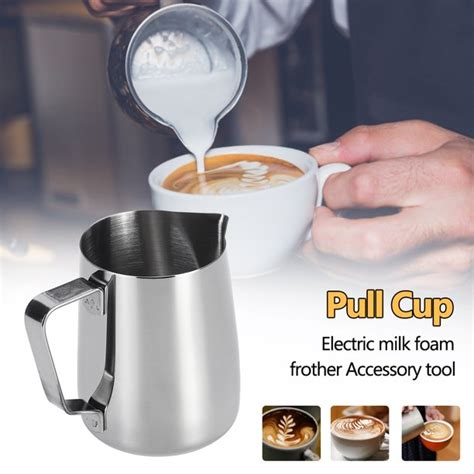 With some practice, you can make fantastic foamed milk for cappuccinos, macchiatos, tea lattes, and other drinks. 350ML Manual Foam Maker Milk Frother Coffee Cream Milk ...