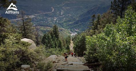 trails  manitou springs colorado alltrailscom