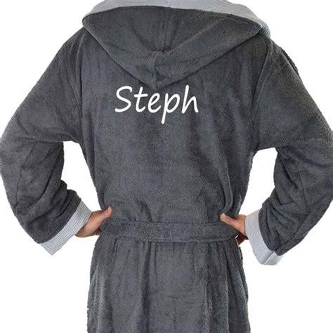 robe de chambre junior peignoir de bain pour homme personnalisé boxer
