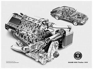 Saab 900 Classic Turbo 16v Engine  Like No Other