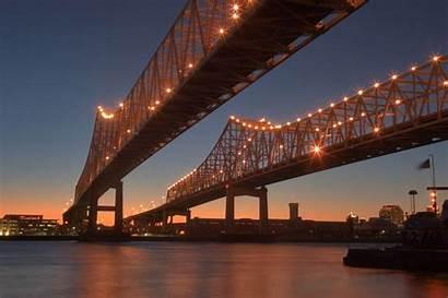 Orleans Bridge Crescent Connection Algiers Bridges Louisiana