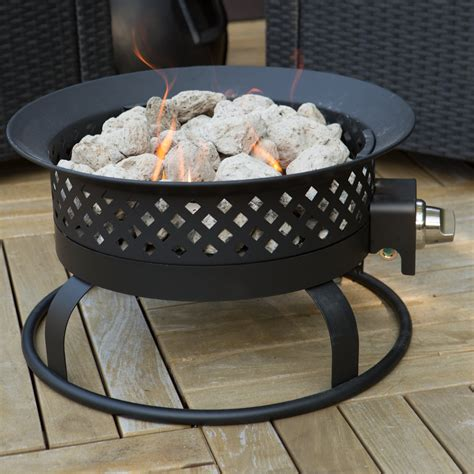 portable propane pit bond 18 5 in portable propane 50 000 btu cfire