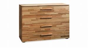 Griffe Küche Holz : kommode aus massiver buche mit 4 schubladen lima 02 ~ Markanthonyermac.com Haus und Dekorationen