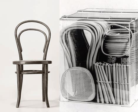"""Bien Avant Ikea  La Chaise N°14 """"bistrot"""" Thonet — Art"""