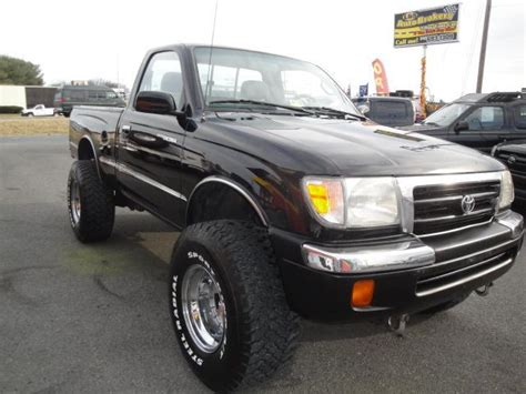 1998 Toyota Tacoma Mpg by 1998 Toyota Tacoma 4x4 4 Cylinder For Sale In