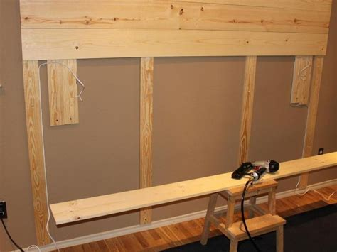 how to install a wood accent wall diy wood wall accent the owner builder network