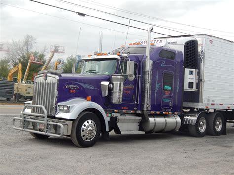 w900l kenworth trucks kenworth custom w900l semi trucks trailers 2