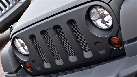 jeep wrangler light grey matte grey jeep wrangler by kahn design