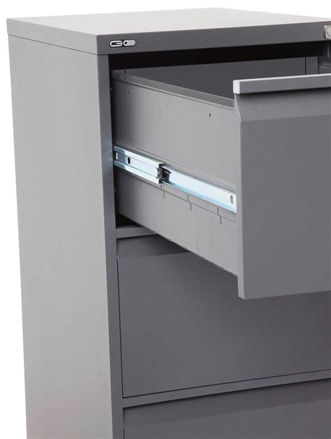 super strong filing cabinet metal three drawer fast