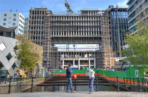 Renovation Works Roeterseiland, University Of Amsterdam