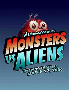 Monsters vs. Aliens Movie Posters From Movie Poster Shop