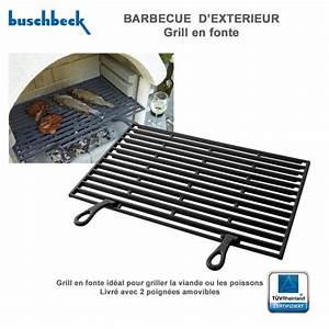 Grille Barbecue Fonte : grille en fonte pour barbecue en pierre 901228 buschbeck ~ Premium-room.com Idées de Décoration