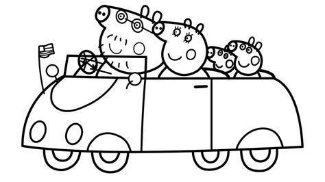 10 peppa pig coloring Coloring Pages