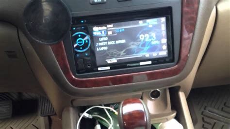 acura mdx  double din aftermarket radio youtube