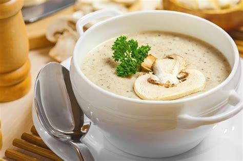 suce dans la cuisine soupe crémeuse aux chignons miam collection de recettes efficaces faciles