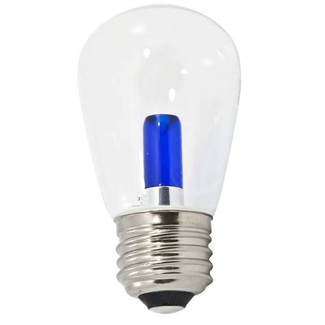 s14 light bulbs blue transparent led s14 professional series light bulbs