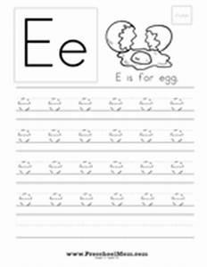 Free Letter E Printables