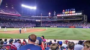 Turner Field Section 119 Home Of Atlanta Braves
