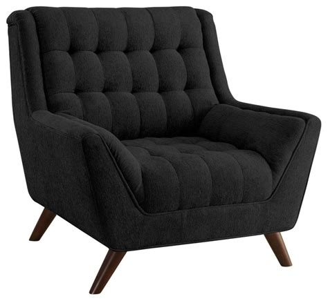 chenille tufted seat back accent chair sofa w