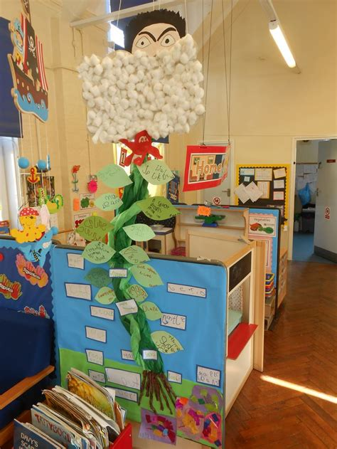 jack   beanstalk display  nursery  children