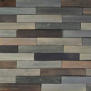 Nuvelle take home sample deco planks old forest pewter for Deco wall planks