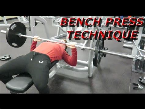Bench Press Method by Bench Press Technique You Re Doing It Wrong