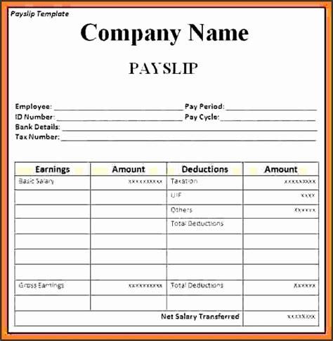 salary slip template sampletemplatess sampletemplatess