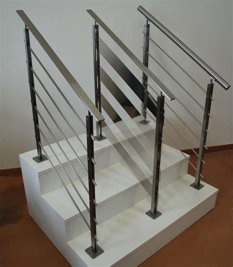 corrimano in vetro per scale corrimano in acciaio per scale interne stunning scala per