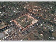 Google Releases Alabama Tornado Destruction Images & Maps