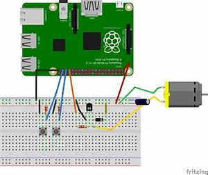 Dc Motor Speed Control With Raspberry Pi