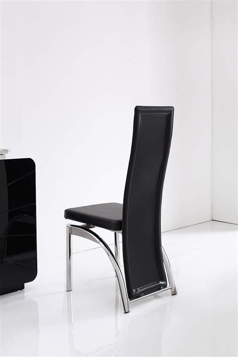 Alisa Brown Faux Leather Dining Room Chairs Kitchen