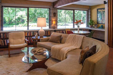 Houzz Living Room Sofas by My Houzz Matthew Bobbie Fisher Midcentury Living