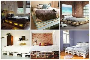 Betten Aus Paletten : 17 tolle tipps f r diy betten aus paletten ~ Michelbontemps.com Haus und Dekorationen
