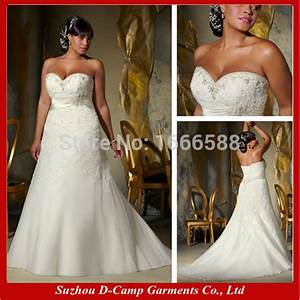 free shipping wd 1147 elegant empire line big boobs With big breasted wedding dresses