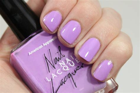 American Apparel French Lilac Nail Lacquer