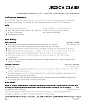 Proper Resume Template by Free Professional Resume Templates From Myperfectresume