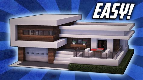 Minecraft How To Build A Large Modern House Tutorial (#22