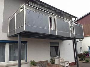Edelstahl Sichtschutz Metall : montagebau marc zettl stahl balkon anlagen ~ Orissabook.com Haus und Dekorationen