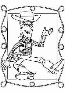 coloring books Cowboy Woody Toy Story to print and free ...