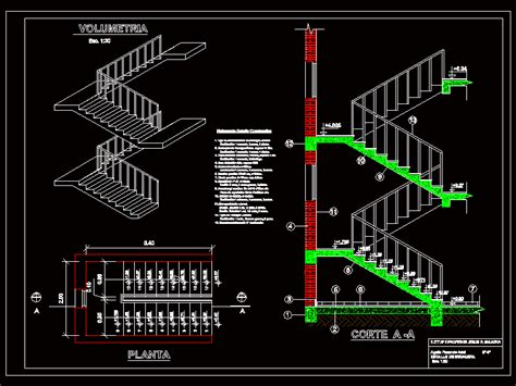 stair detail in autocad cad 117 91 kb bibliocad