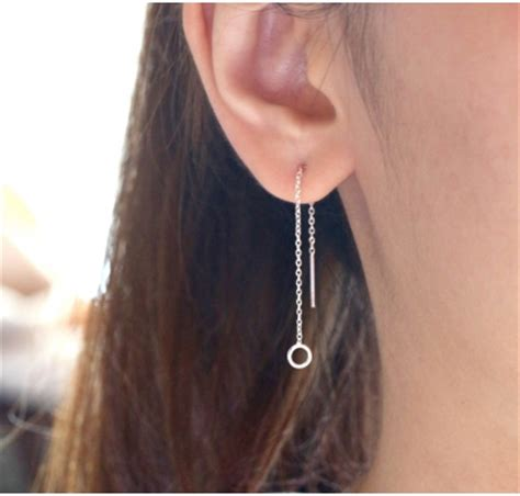 Threader Earrings  J&co Jewelry